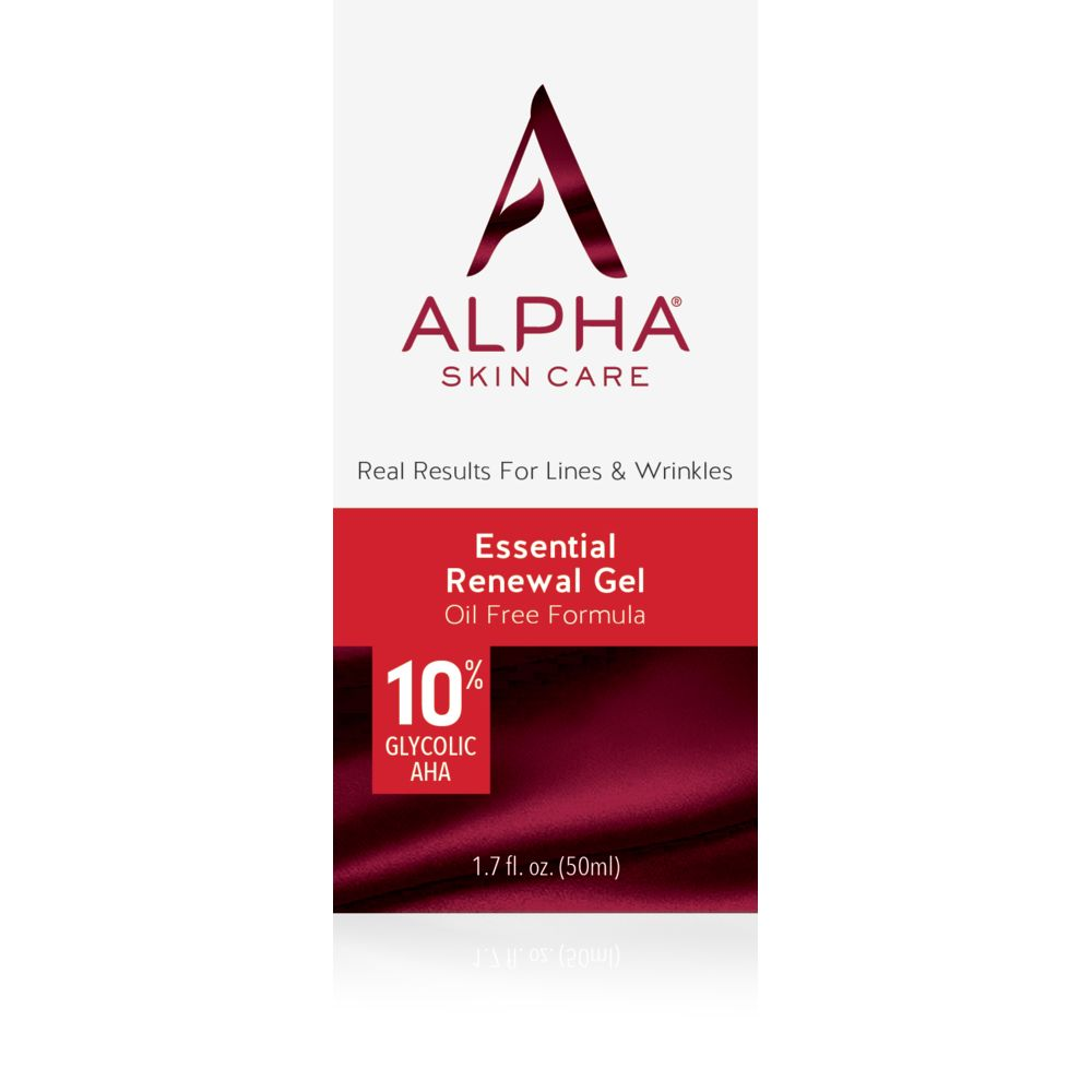 Box Shot Front Alpha Skin Care Essential Renewal Gel
