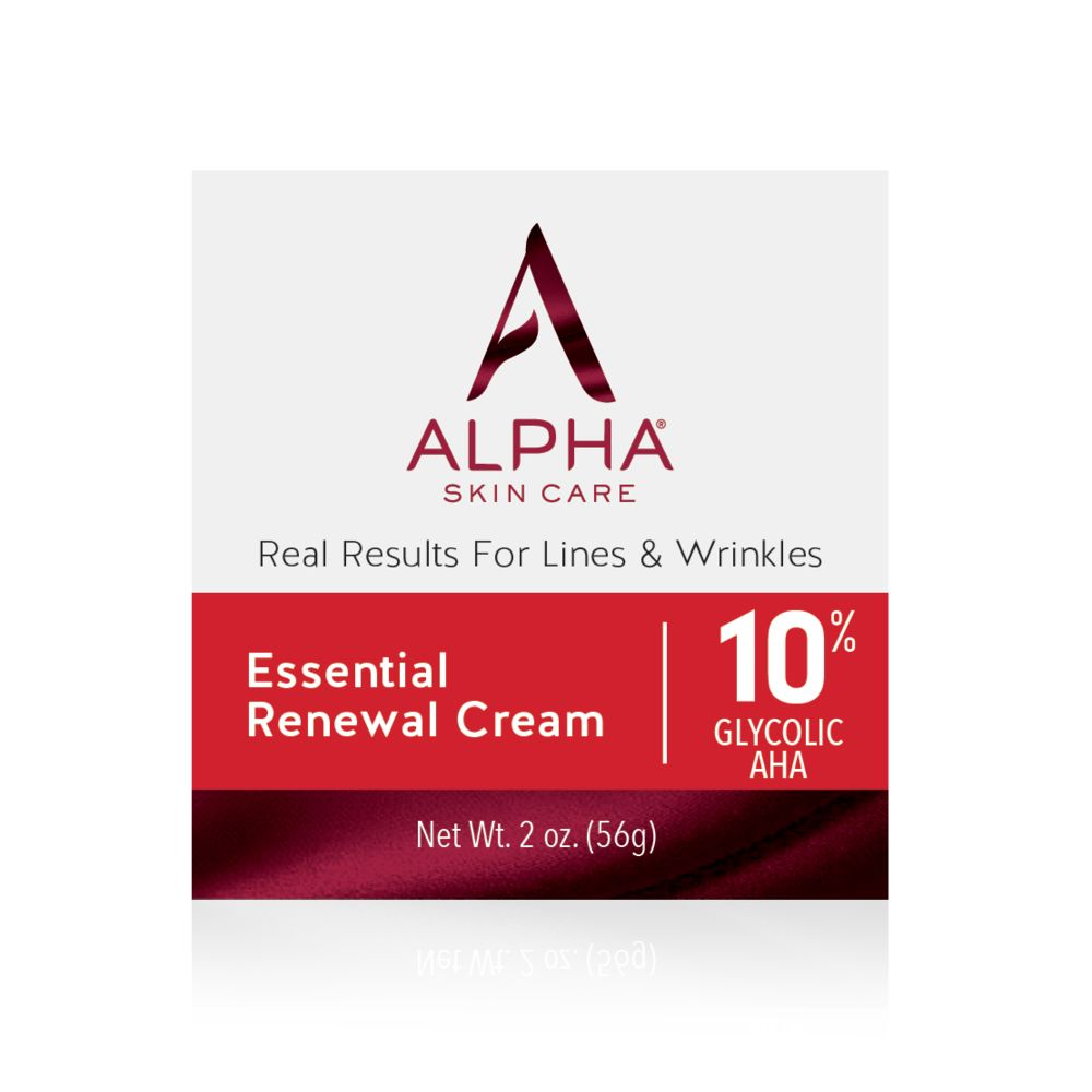 Box Shot Front Alpha Skin Care Essential Renewal Cream