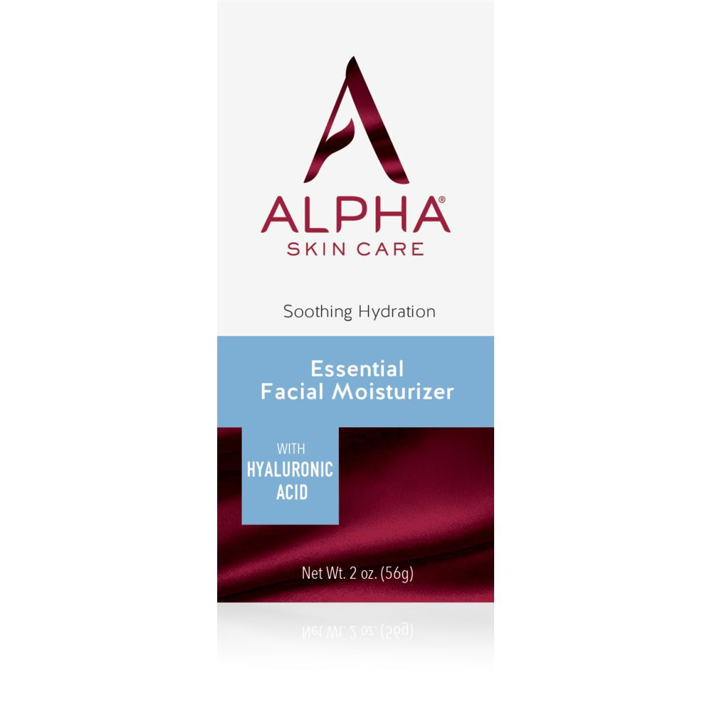 Box Shot Front Alpha Skin Care Essential Facial Moisturizer