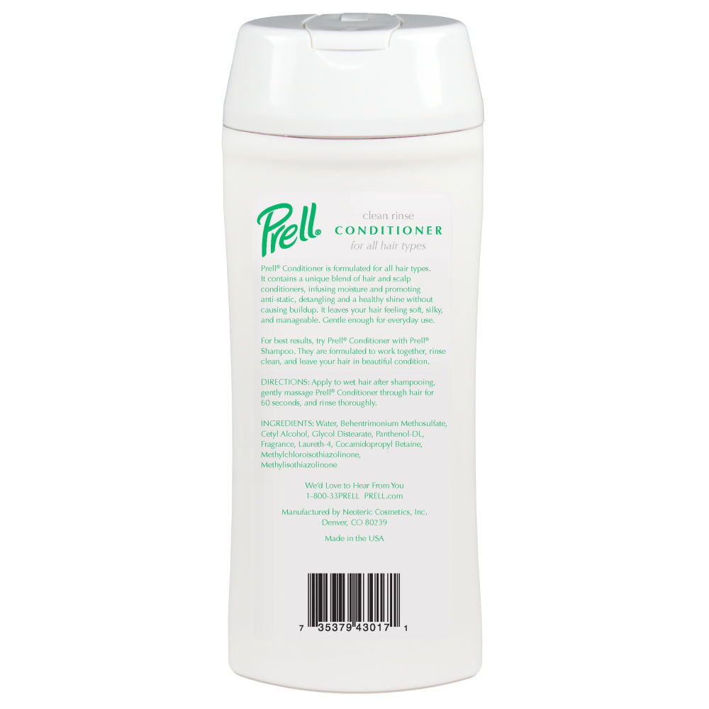 Product Shot Back Prell Moisturizing Conditioner