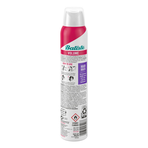 Batiste Volumizing Shampoo Back