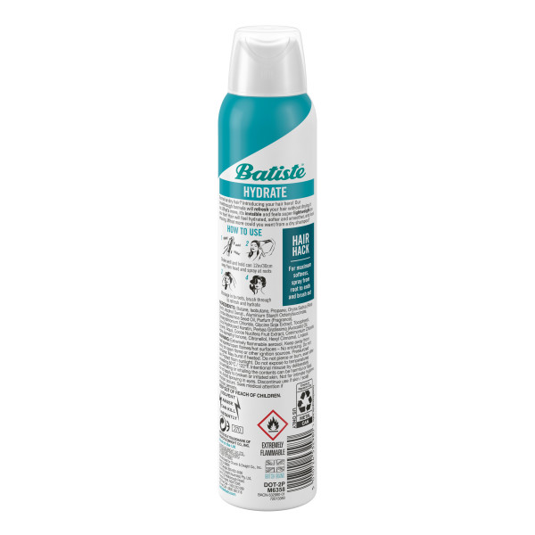 Batiste Hydrating Shampoo Back
