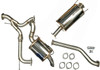 Patrol Y62 Series 1-4 Cat Back Exhaust System (OEM Fuel Tank)