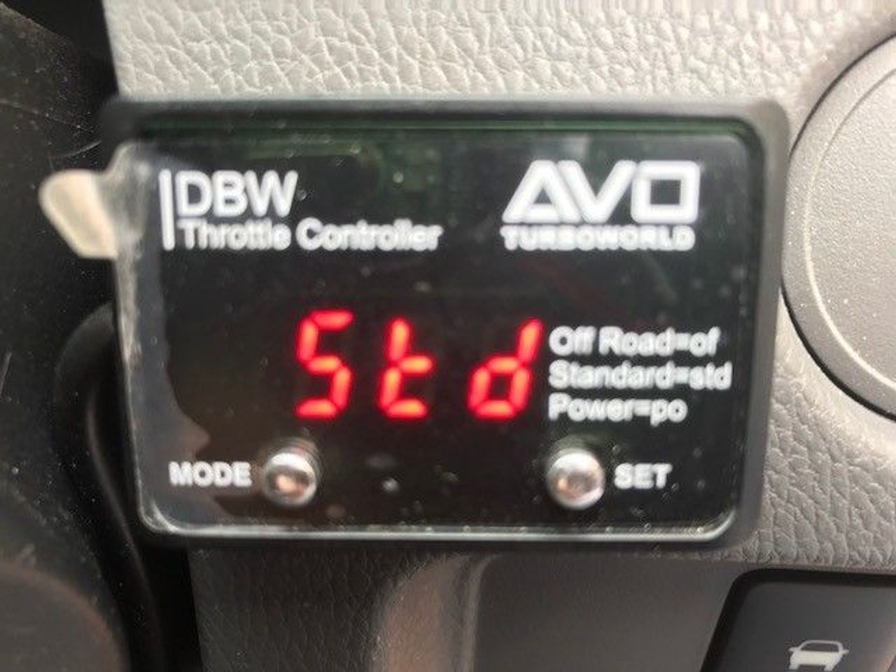 AVO DBW Controller Unit (T10D)