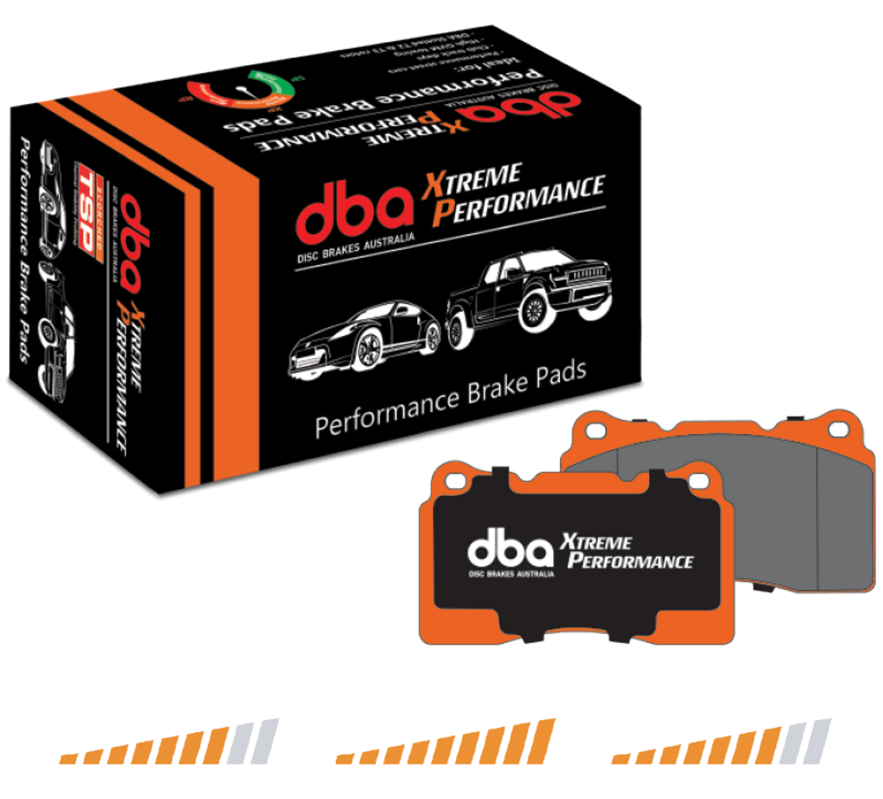 Patrol Y61 DBA Extreme Rear Brake Pad Set