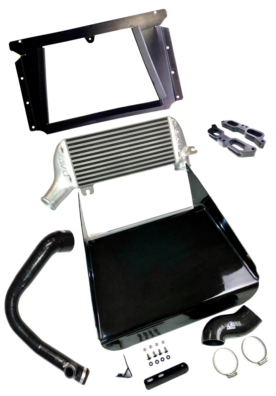 Race Top Mount Intercooler System - Includes TGV & Silicon Turbo Discharge Hose