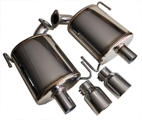 Exhaust Rear Mufflers Liberty GT EJ25 S1B04M3HB001T