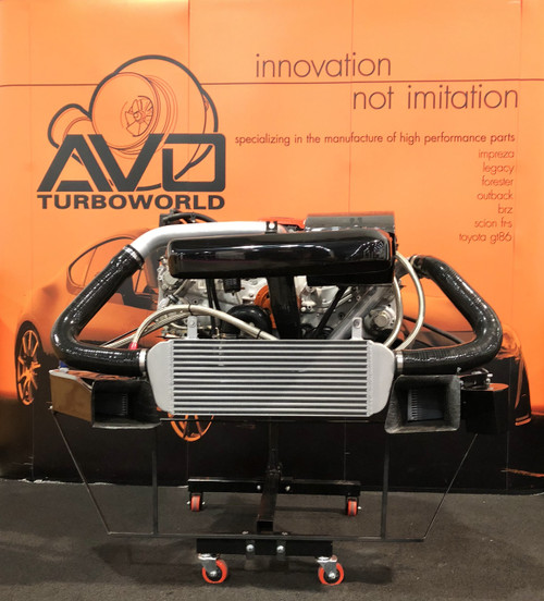 BRZ, FRS & 86 2012+ (A/T) & 2012-2015 (M/T) Stage 3Turbo Kit - Package 3