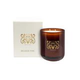 BLACK TIE | L TRANSPARENT AMBER JAR