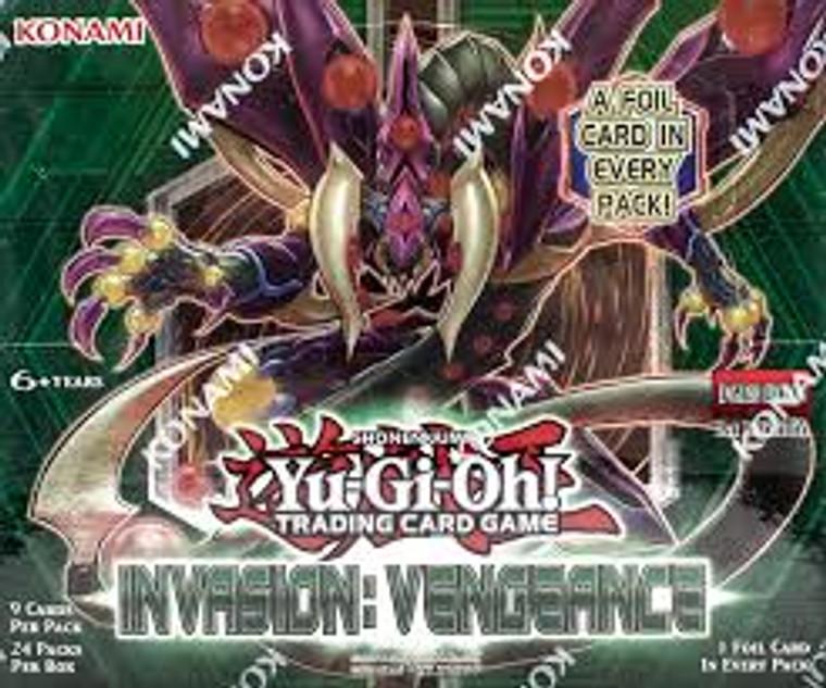 YGO Booster Box: Invasion Vengeance