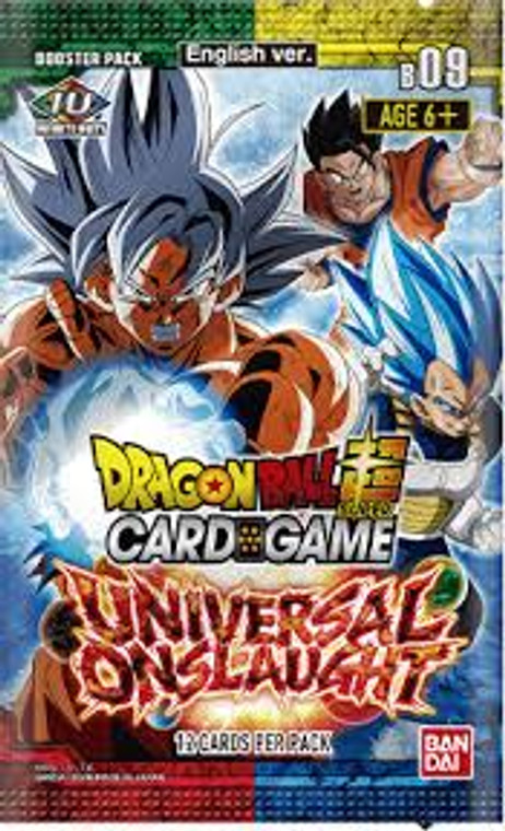 DBS S9: Booster Pack: Universal Onslaught