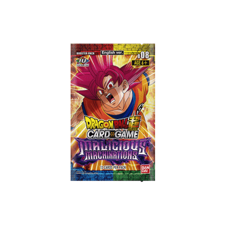 DBS S8: Booster Pack: Malicious Machinations