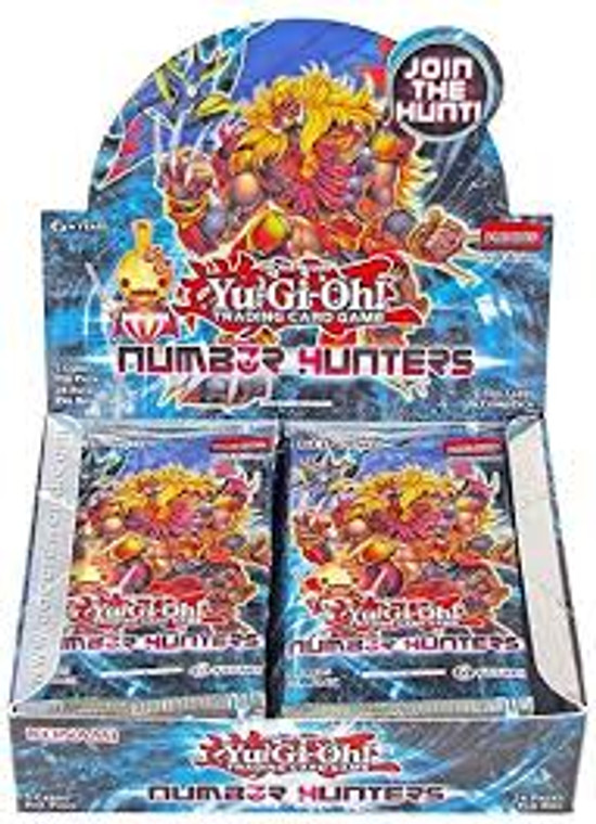 YGO Booster Box - Number Hunters