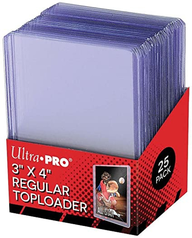 Ultra Pro Toploader Sleeves 25ct