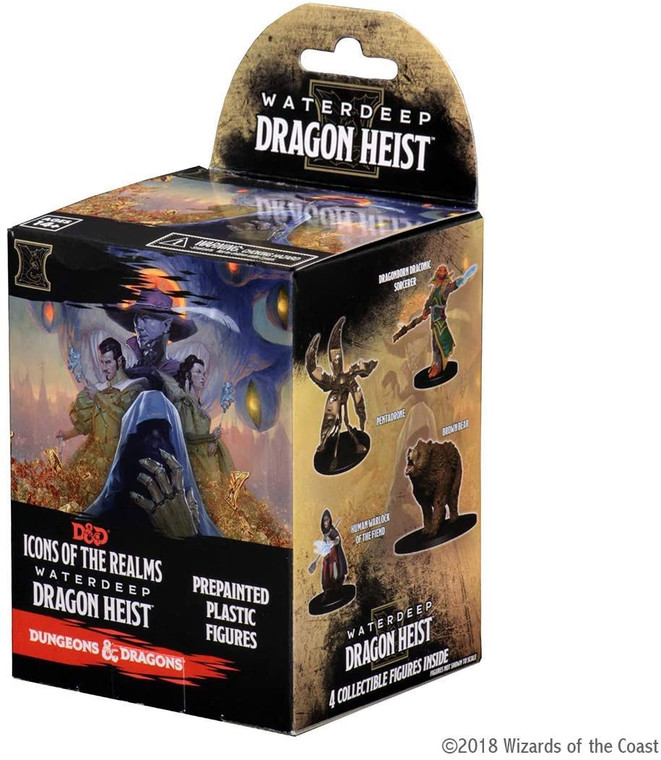 D&D Icons of the Realms: Dragon Heist - Booster Pack
