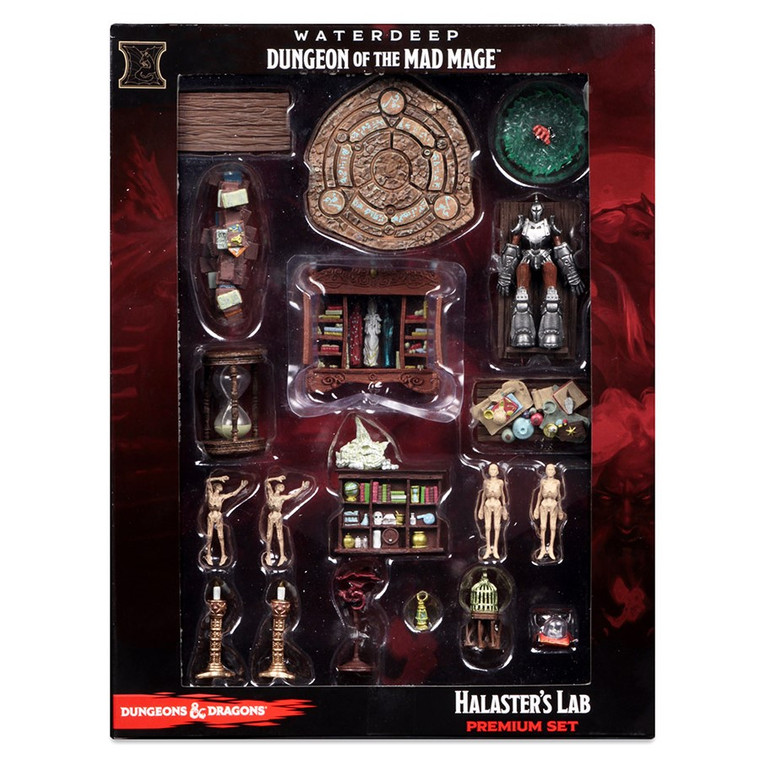 D&D Icons of the Realms: Dungeon of the Mad Mage - Halaster's Lab