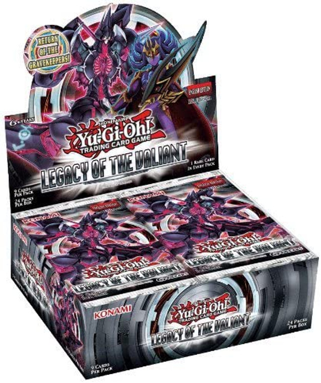 YGO Booster Box - Legacy of the Valiant