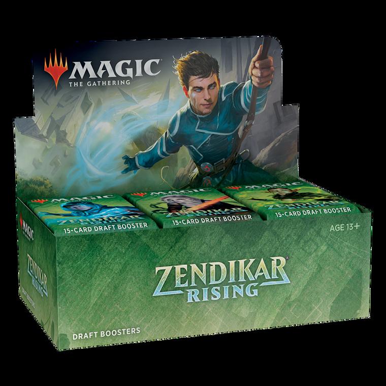 Magic the Gathering: Zendikar Rising - Draft Booster Box
