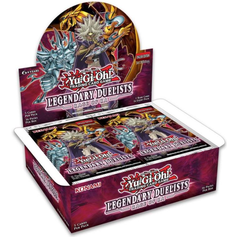 Yu-Gi-Oh! Legendary Duelists Rage of Ra: Booster Box