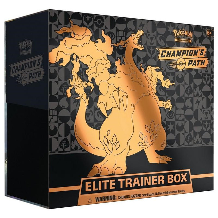Pokemon TCG: Champion's Path - Elite Trainer Box