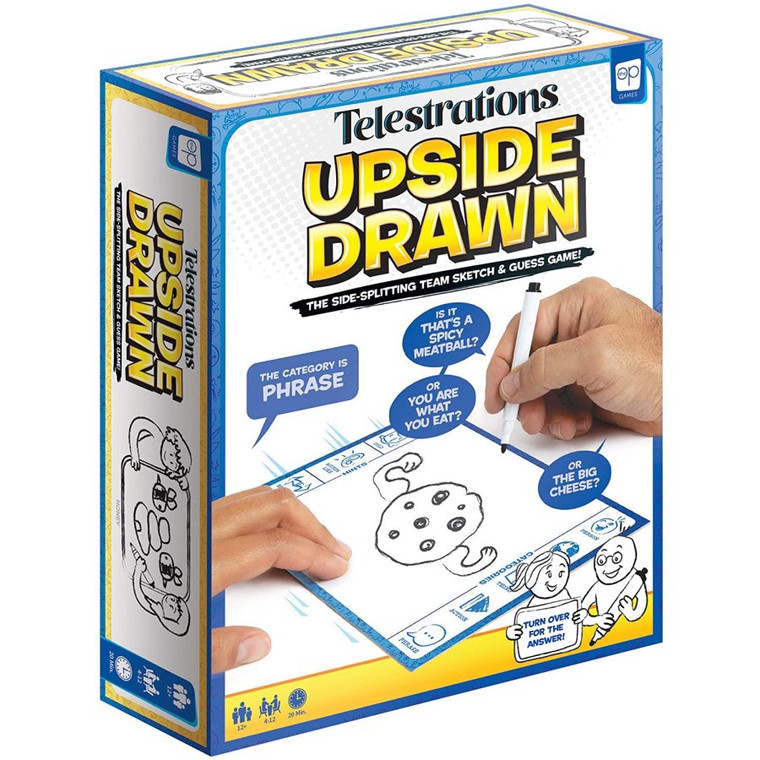 Telestrations: Upside Drawn