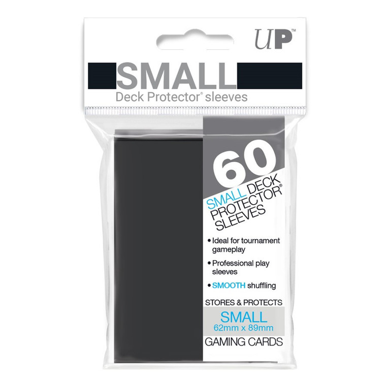 Deck Protector Small Sleeves (60): Black