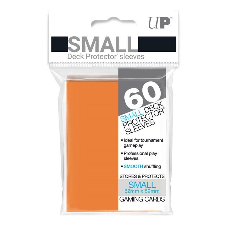 Deck Protector Small Sleeves (60): Orange