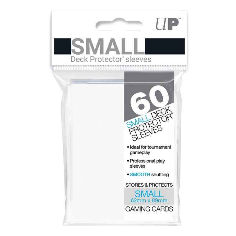 Deck Protector Small Sleeves (60): White