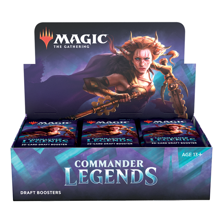 Magic the Gathering: Commander Legends - Draft Booster Box