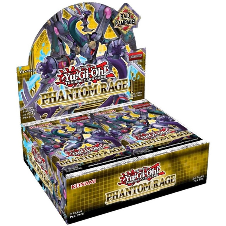 Yu-Gi-Oh! TCG: Phantom Rage - Booster Box