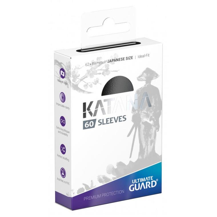 Katana Japanese Sleeves (60): Black