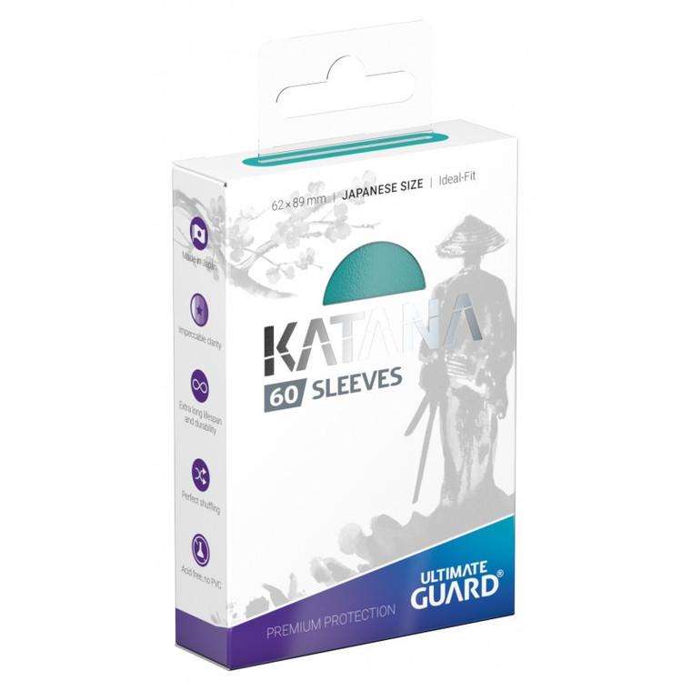 Katana Japanese Sleeves (60): Turquoise