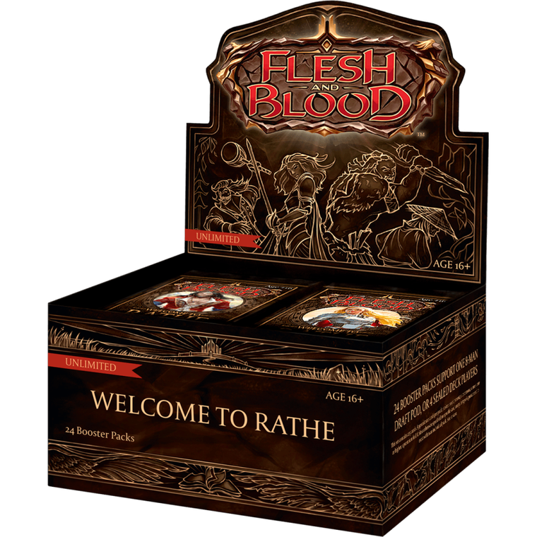 Flesh and Blood TCG: Welcome to Rathe (Unlimited) - Booster Box