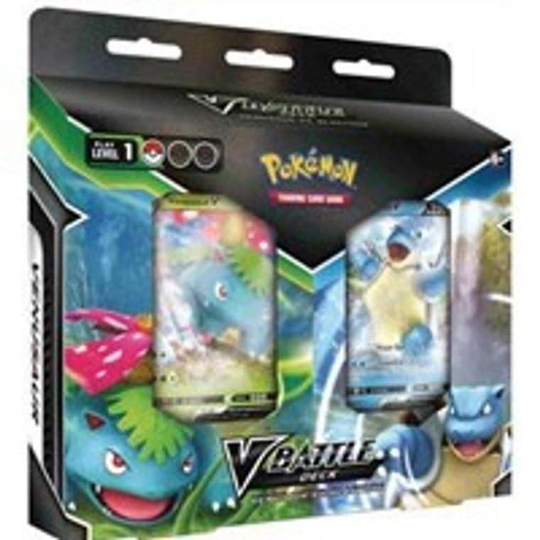 Pokemon V Battle Deck: Venusaur vs Blastoise