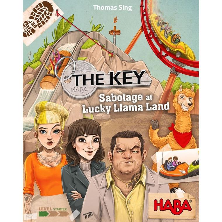 The Key: Sabotage at Lucky Llama Land