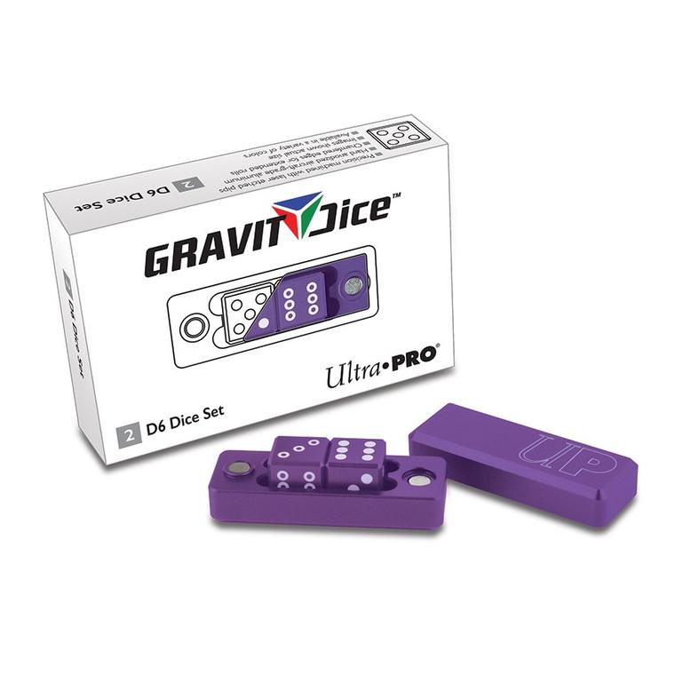 Gravity Dice 2D6 Set: Royal