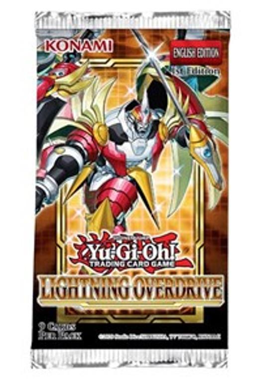 YGO Booster Pack: Lightning Overdrive