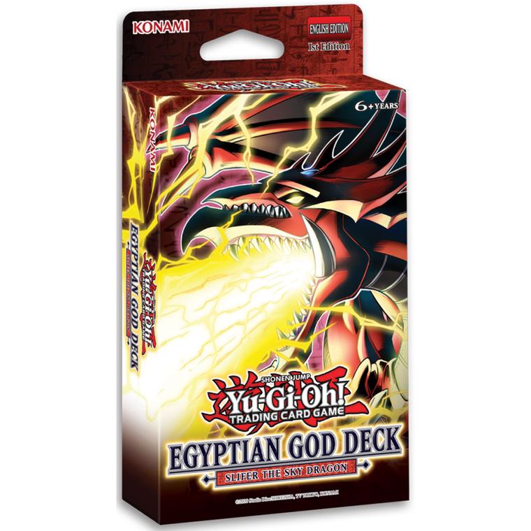 Yu-Gi-Oh! Egyptian God Deck - Slifer the Sky Dragon