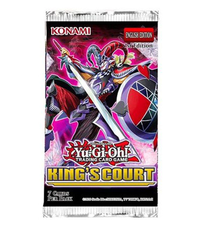 YGO Booster Pack: King's Court