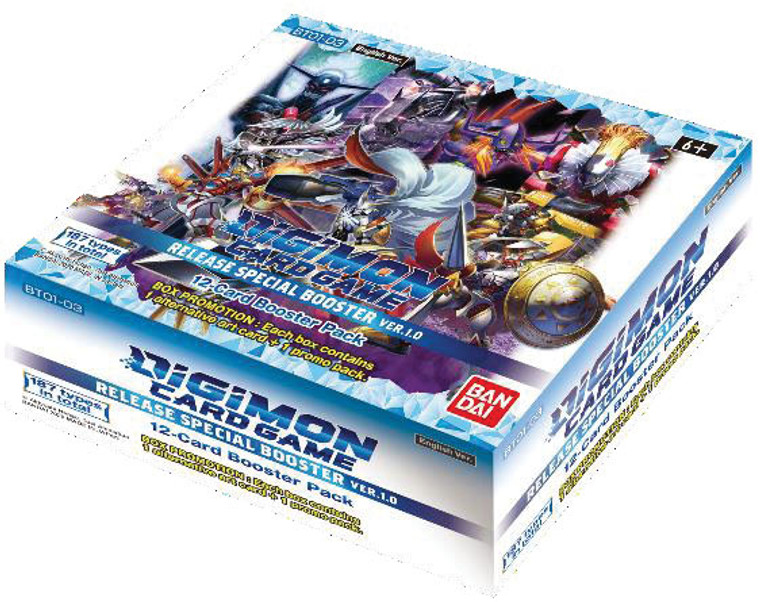 Digimon Card Game: Release Special Ver.1.0 - Booster Box