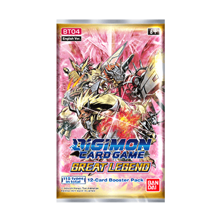 Digimon Card Game: Great Legend - Booster Pack