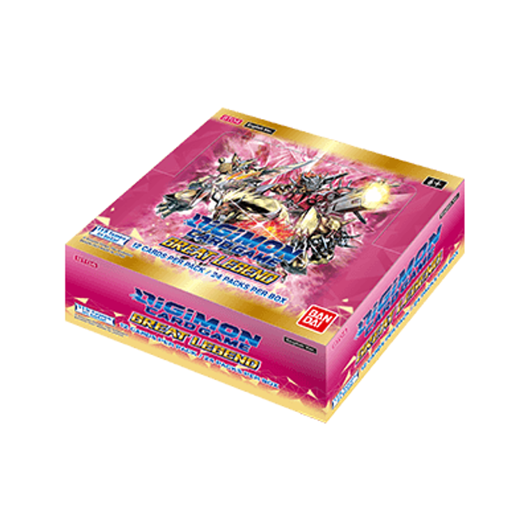 Digimon Card Game: Great Legend - Booster Box