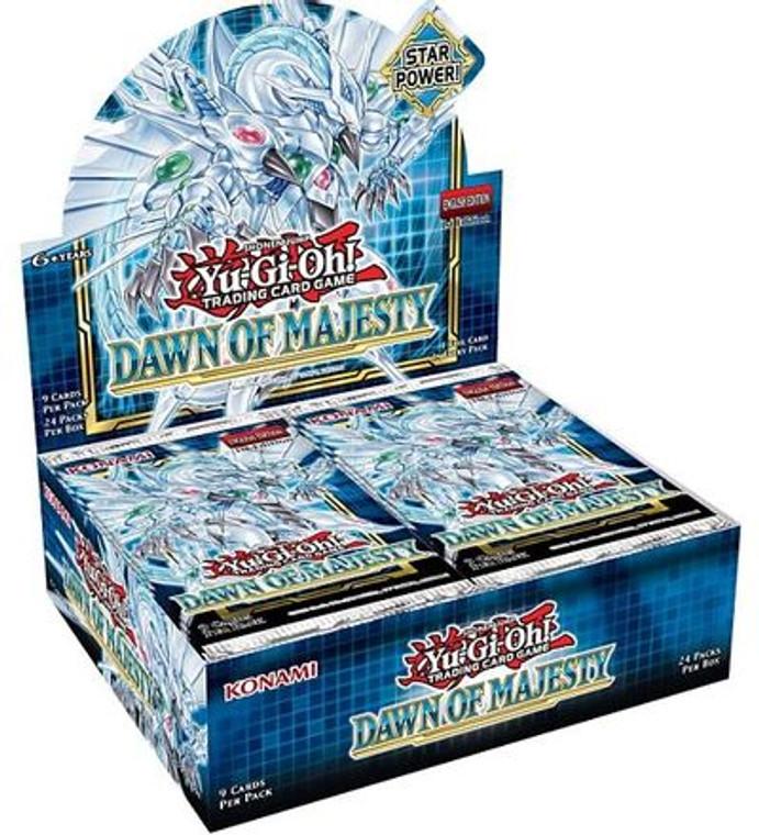 YGO Booster Box: Dawn of Majesty