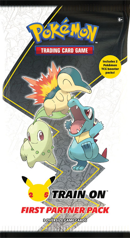 Pokemon TCG: First Partner Pack -  Johto