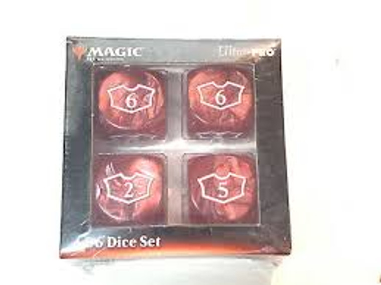 MTG Deluxe Loyalty Dice: Red