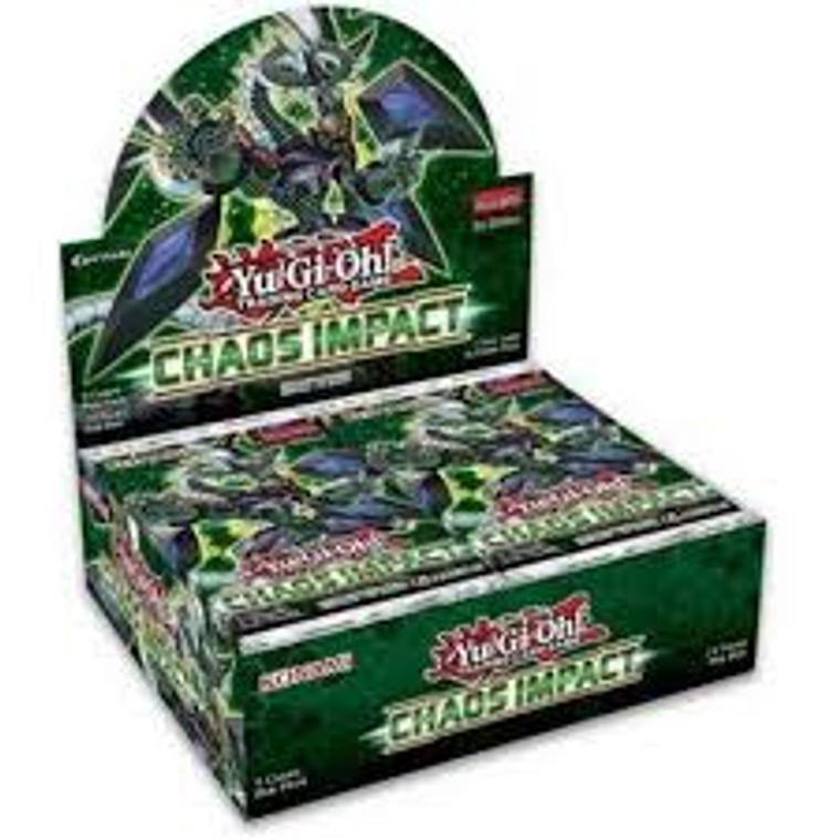 YGO Chaos Impact Booster Box