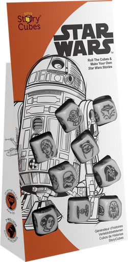 Rory S Story Cubes Star Wars Shuffle And Cut Games