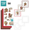 Stitch and Do 164 - Card Embroidery Kit  - Have a Mice Christmas