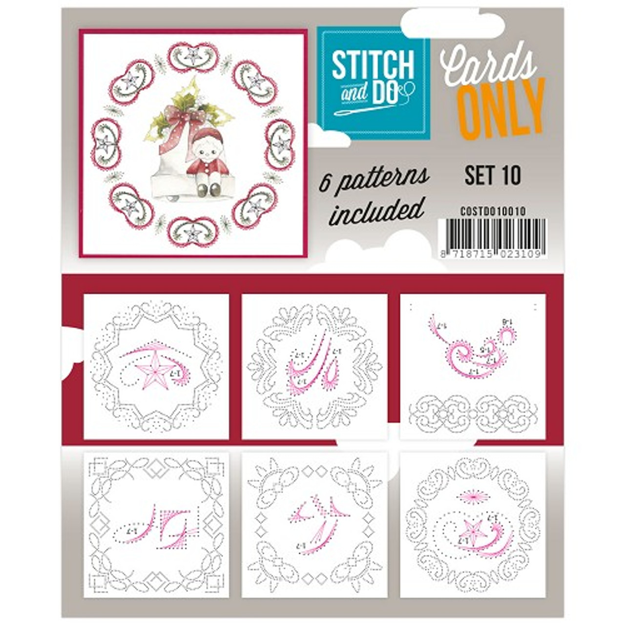 Stitch and Do Card Stitching Cardlayers Only - Set 10
