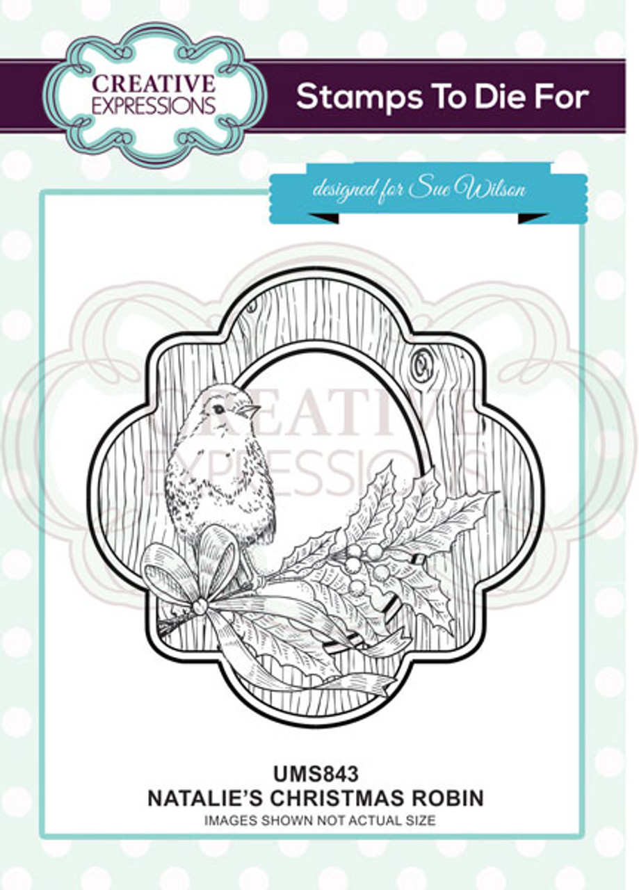 Creative Expressions Stamps To Die For By Sue Wilson-Carol/'s Festive Bells